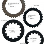 SPARE PARTS :- CLUTCH PLATE